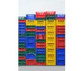 Cajas de plastico.
